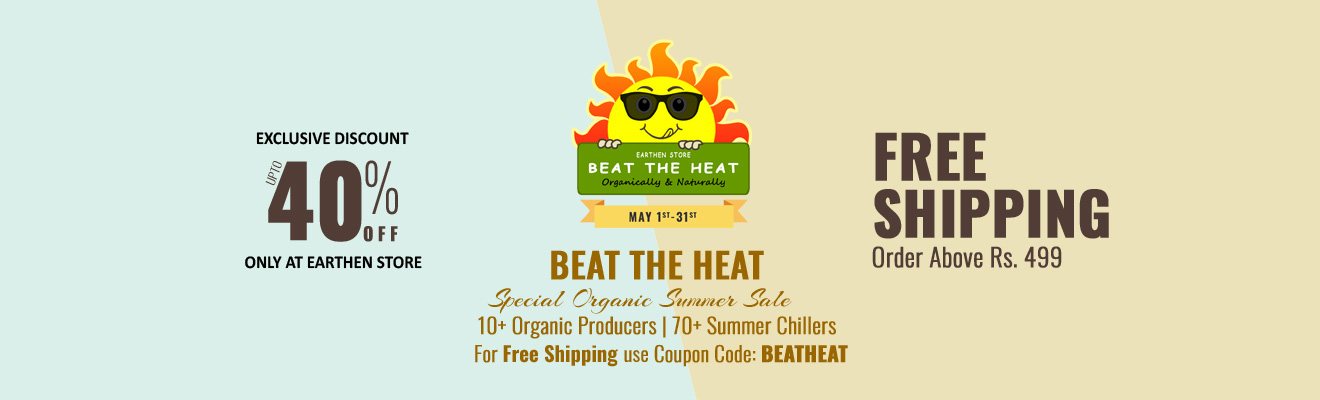 Earthen Store - Beat The Heat - Offer & Discount