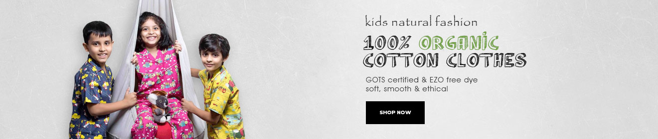 Online Organic Store - Kids Clothing