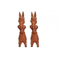 Terracotta Horse (Set of 2)