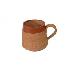 Handcrafted Terracotta Coffee Mug