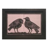 Designer Slate Wall Frame - Birds (Adaptation - Sahajpath by Rabindranath Tagore)