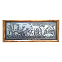 Designer Slate Wall Frame - A War Scene (Adaptation - 'Birpurush' poem by Rabindranath Tagore)