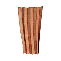 Madur Grass Door Curtain (Maroon) - 6 ft x 4 ft