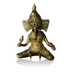 Brass Metal Craft (Dokra) Ganesh - 3 Inches