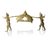 Brass Metal Craft (Dokra) Palanquin (Palki)
