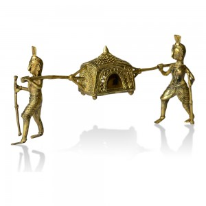 Dhokra Metal Craft – Palanquin (Palki)