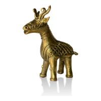 Brass Metal Craft (Dokra) Deer