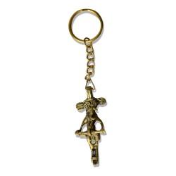 Brass Metal Craft (Dokra) Key Ring