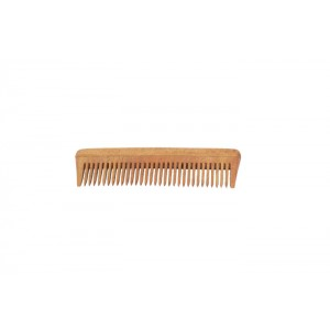 Natural Neem Wood Comb - Small Size