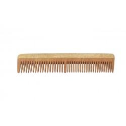 Natural Neem Wood Wide & Narrow Dual Teeth Comb