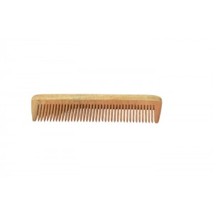 Natural Neem Wood Comb - Medium Size