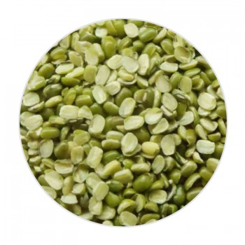 Green Sense Organic Green Gram Split With Skin/Moong Dal - 500 GMS