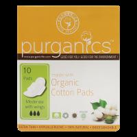 Purganics Organic Cotton Pads Moderate