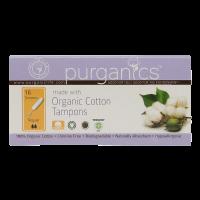 Purganics Organic Cotton Tampons Regular