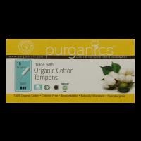 Purganics Organic Cotton Tampons Super