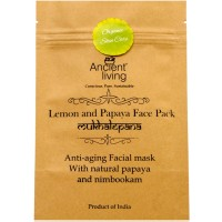 Ancient Living Lemon & Papaya Face Pack - 40 GMS