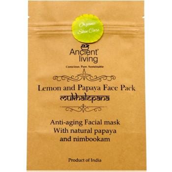 Ancient Living Lemon & Papaya Face Pack - 40 GMS