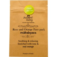 Ancient Living Rose & Orange Face Pack - 40 GMS