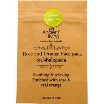 Ancient Living Rose & Orange Face Pack - 40 GMS