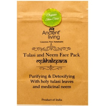 Ancient Living Tulasi & Neem Face Pack - 40 GMS