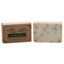 Ancient Living Avacado & Basil Luxury Handmade Soap - 100 GMS