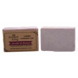 Ancient Living Lavender & Oatmeal Luxury Handmade Soap - 100 GMS