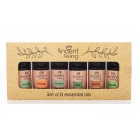 A Combo Pack of 6 Essential Oils - 60 ML