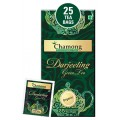 Chamong Organic Darjeeling Green Envelope Tea Bag - 25 Bags