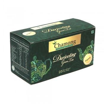 Chamong Organic Darjeeling Green Envelope Tea Bags