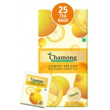 Chamong Organic Lemon Splash Envelope Tea Bag - 25 Bags