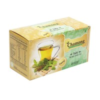 Chamong Organic Tulsi Green Envelope Tea Bags