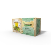 Chamong Organic Tulsi Green Envelope Tea Bag Combo - 100 Bags