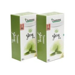 Chamong Organic Darjeeling Green Regular Tea Bags