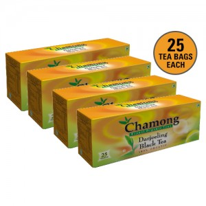 Chamong Organic Darjeeling Regular Tea Bag Combo - 100 Bags