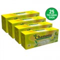 Chamong Organic Lemon Green Regular Tea Bag Combo - 100 Bags
