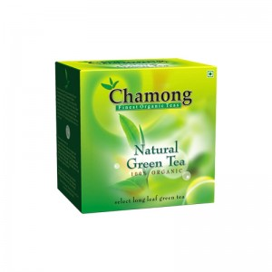 Chamong Organic Darjeeling Green Tea Loose Leaf - 100 GMS