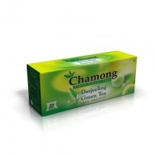 Chamong Organic Darjeeling Green Regular Tea Bag - 50 Bags