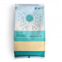 Dear Earth Organic Maize/Makka Flour - 500 GMS