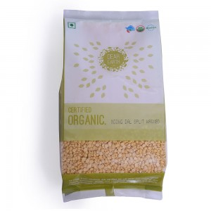 Dear Earth Organic Moong Dal Split Washed - 500 GMS