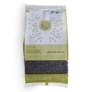 Dear Earth Organic Urad Whole - 500 GMS