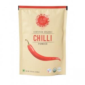 Dear Earth Organic Red Chilli Powder - 150 GMS