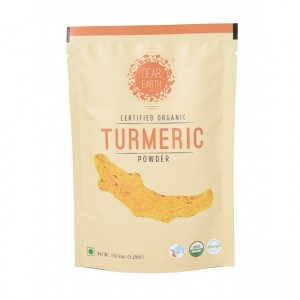 Dear Earth Organic Turmeric Powder - 150 GMS
