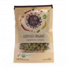 Dear Earth Organic Cardamom Green - 50 GMS