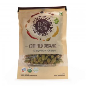 Dear Earth Organic Cardamom Green - 50 GMS