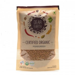 Dear Earth Organic Fenugreek - 150 GMS