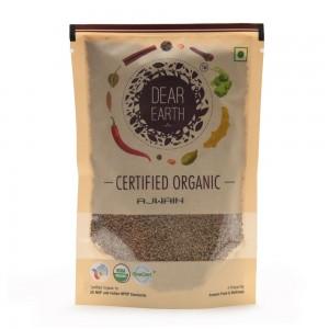 Dear Earth Organic Ajwain - 100 GMS
