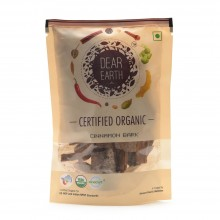 Dear Earth Organic Cinnamon Bark - 50 GMS