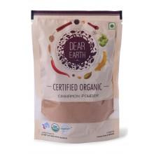 Dear Earth Organic Cinnamon Powder - 75 GMS