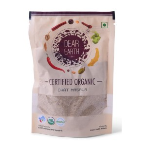 Dear Earth Organic Chat Masala - 75 GMS