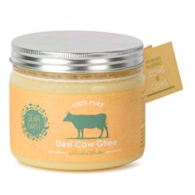 Dear Earth Organic Desi Cow Ghee - 350 GMS